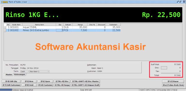 software akuntansi kasir bandung
